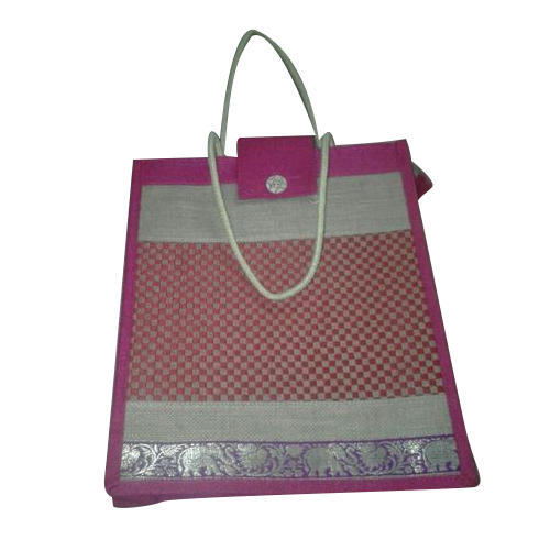 Lunch Printed Jute Bags