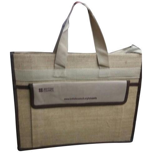 Office Printed Jute Bag
