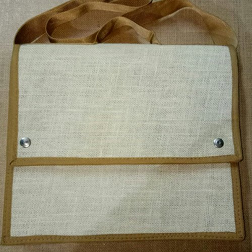 Plain Laptop Jute Bags