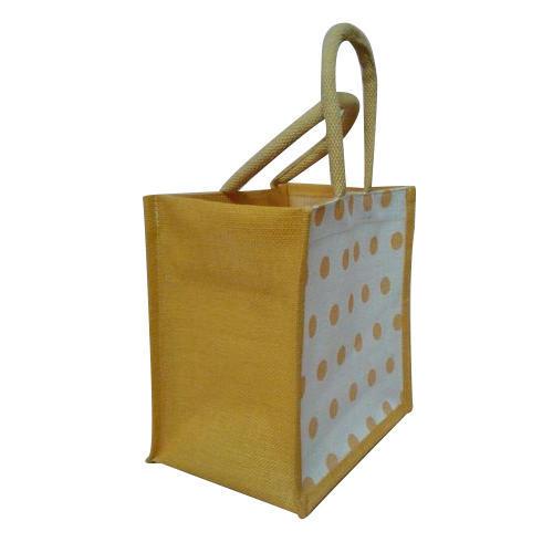 Printed Jute Shopping Bags
