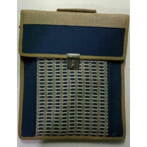 Rectangular Laptop Jute Bags