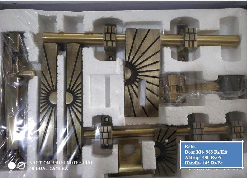 Antique Boat Model White Metal Door Kit