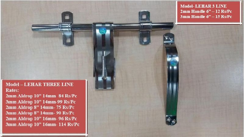 Lehar Three Line Model Aldrop and Handle