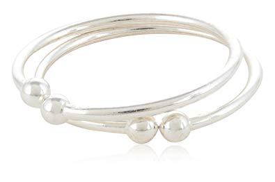 92.5 Sterling Silver Baby Bracelet