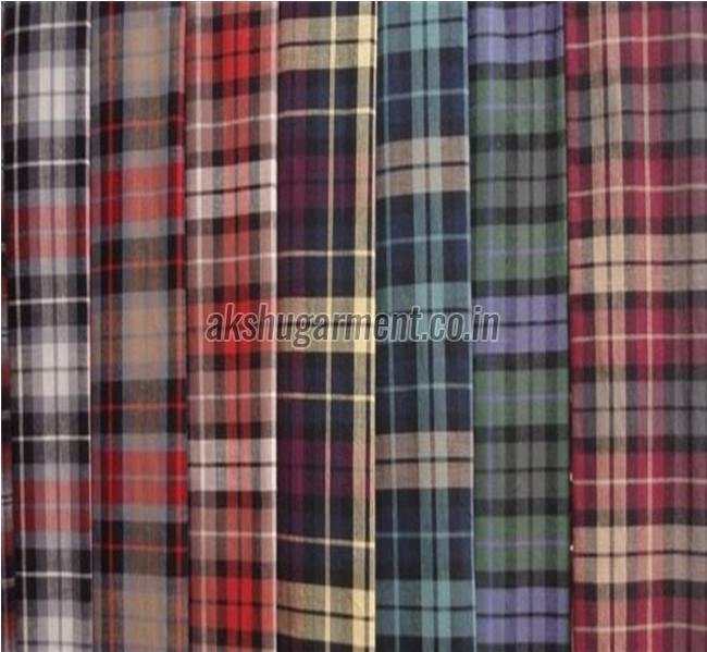 Checkered Shirting Fabric