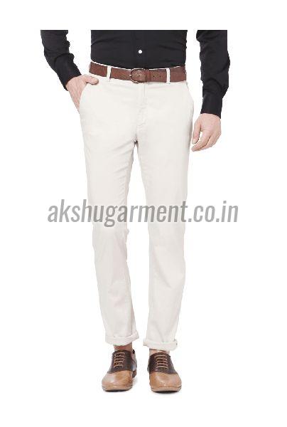 Comfort Fit Cotton Trouser