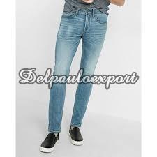 Mens Narrow Bottom Jeans
