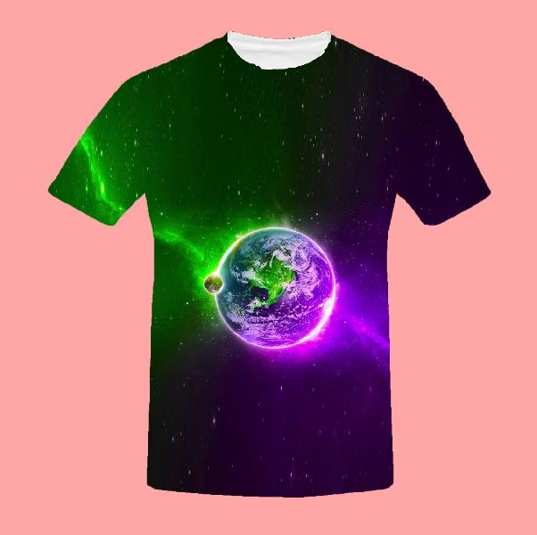 Mens Round Neck T-shirt 03