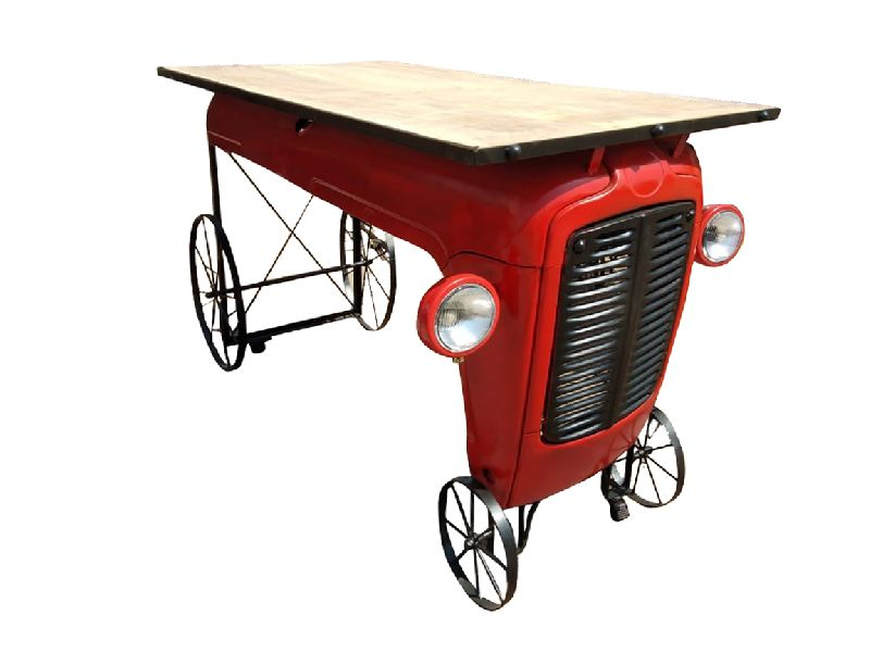 Mango Wood Tractor Tables