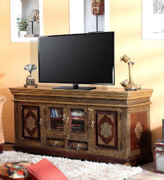 Mango Wood TV Unit