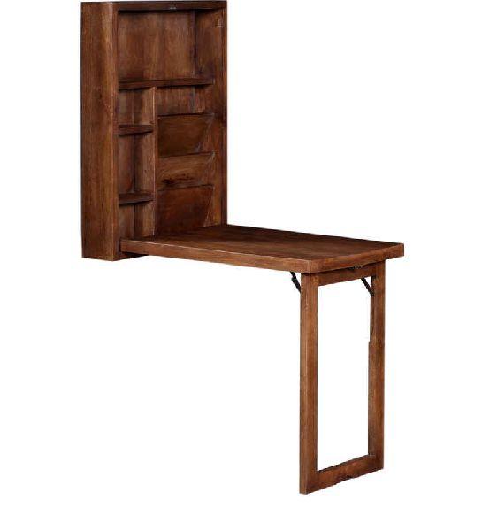 Mango Wood Wall Mounted Study Table