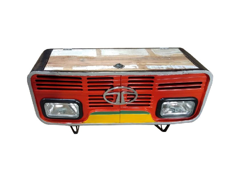 Reclaimed Wood Truck Coffee Table