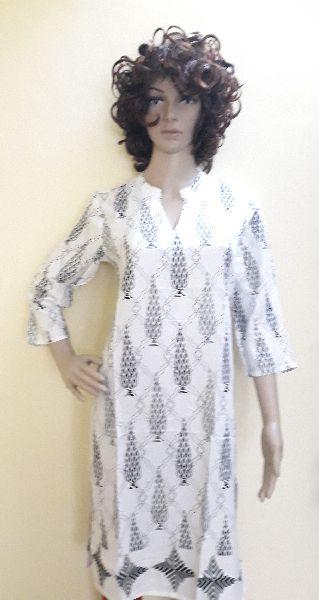 Ladies Printed Cotton Kurti