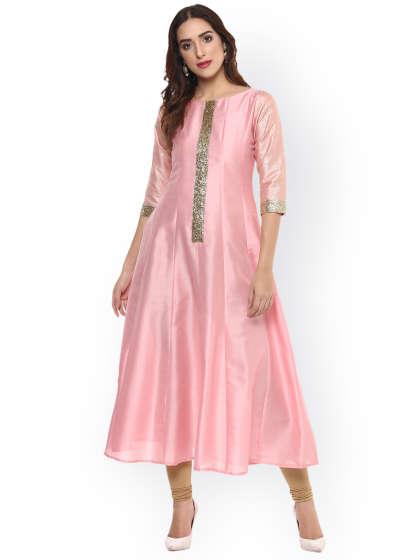 Ladies Stylish Silk Kurti