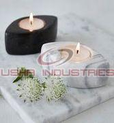 Designer Marble Candle Holder