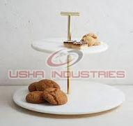 Marble Cupcake Stand
