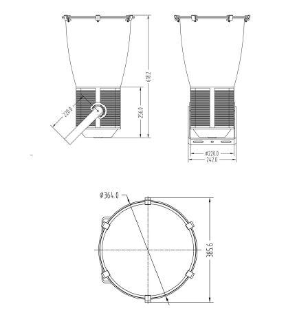 Product Dimension(Unit:MM)
