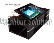 Foldable Touch Screen Table