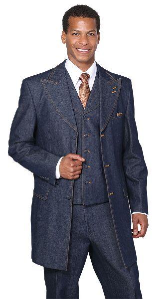 Denim Suit Fabric