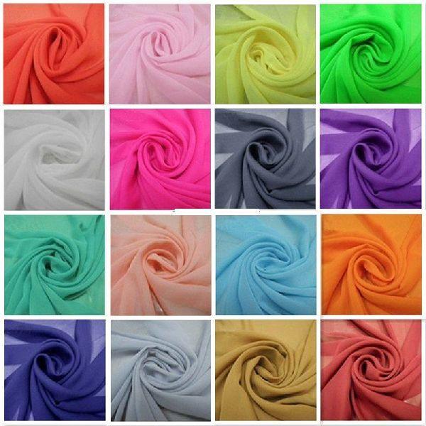 Plain Chiffon Fabric