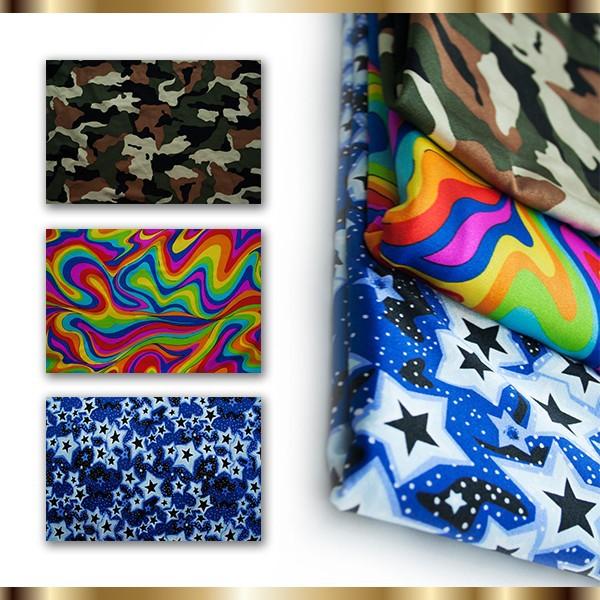 Printed Nylon Fabric