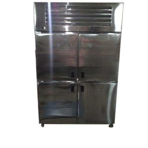 Stainless Steel Four Door Refrigerator