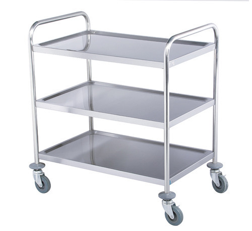 Stainless Steel Hotel Trolley