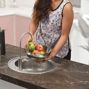 Stainless Steel Round Bowl Sinks