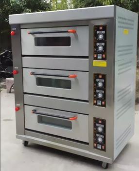 Three Deck Baking Oven