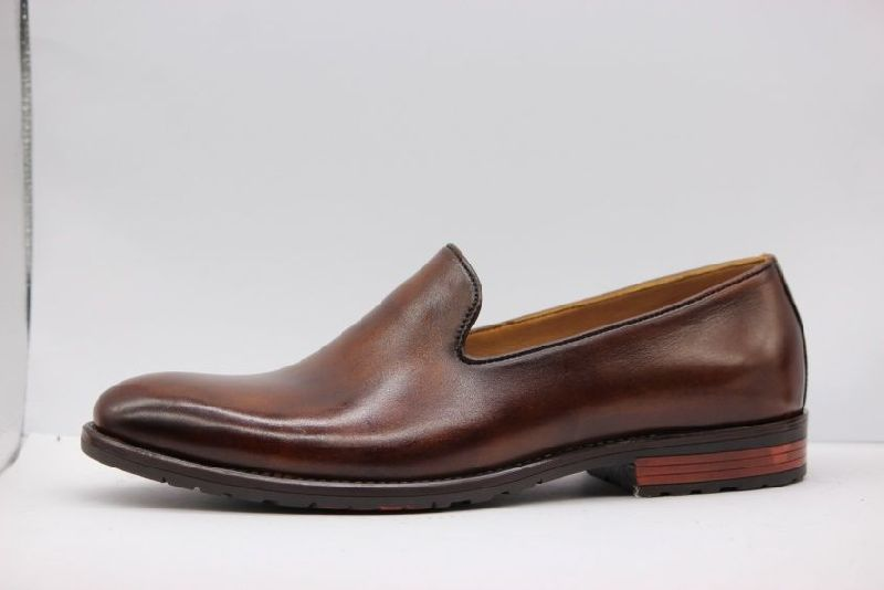 Art No. 1114 Brown Mens Formal Shoes
