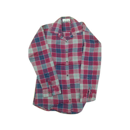 Girls Checkered Shirts