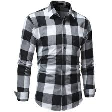 Mens Checkered Shirts