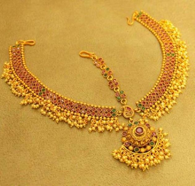 Gold Plated Maang Tikka