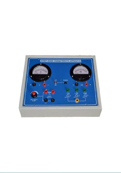 Zener Diode Characteristic Apparatus Manufacturer Supplier in Ambala