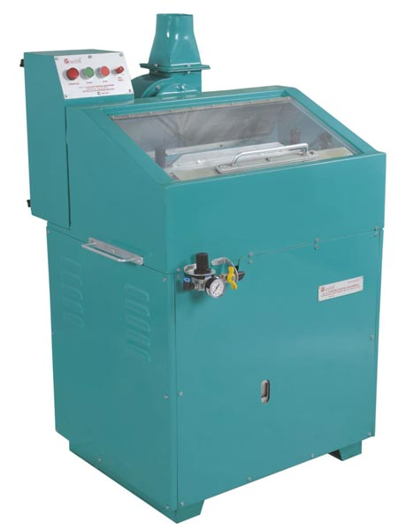 Eight Roller Top Degreasing Machine