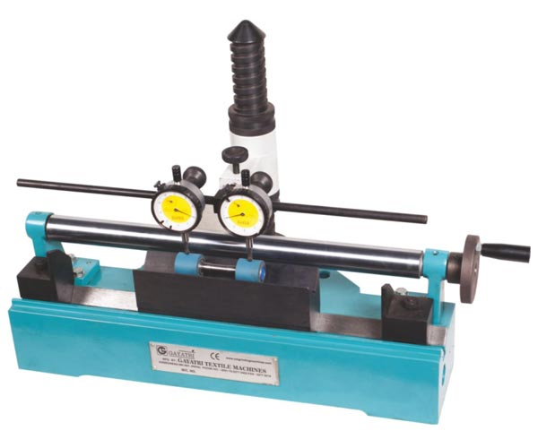 Manual Eccentricity & Taper Tester Machine