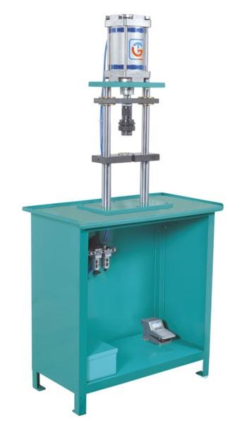Pneumatic Cot Mounting De-Machine