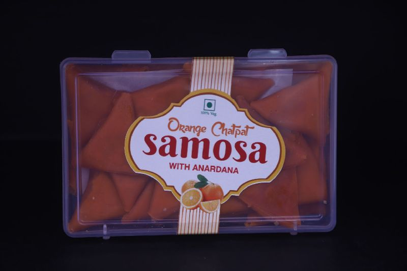 Chatpat Orange Samosa