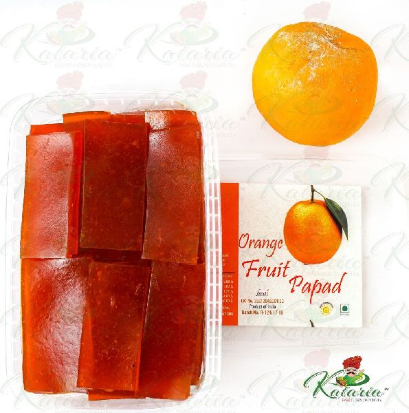 Orange Papad
