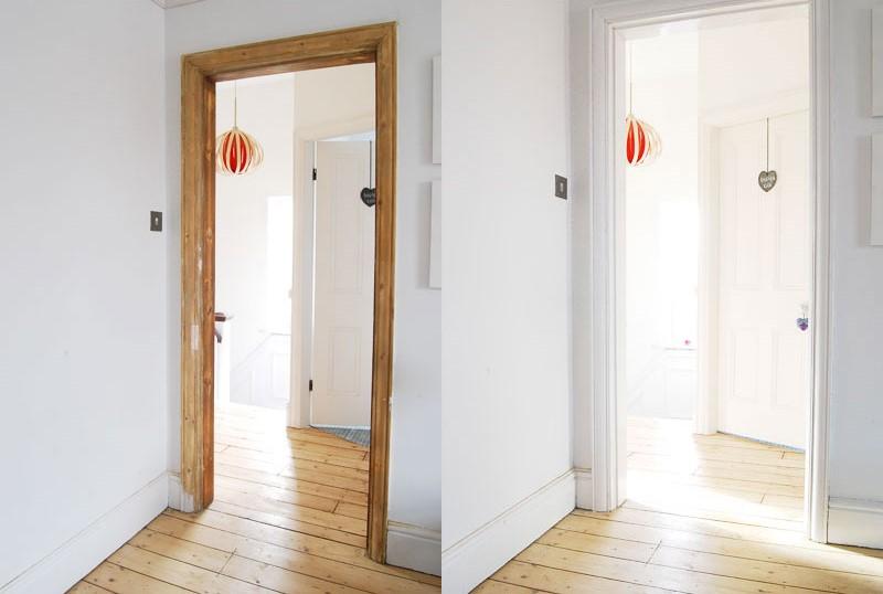 Painted & Polished Door Frame