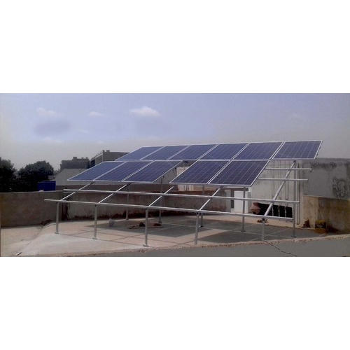 Solar Panel Mounting Structure Fabrication Services