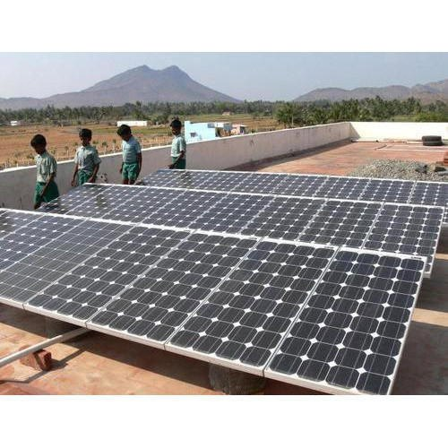 Solar Plant Fabrication Services