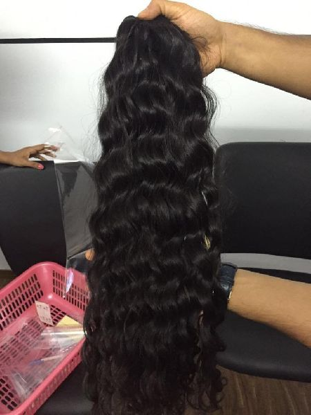 Temple Curly Hair Extension