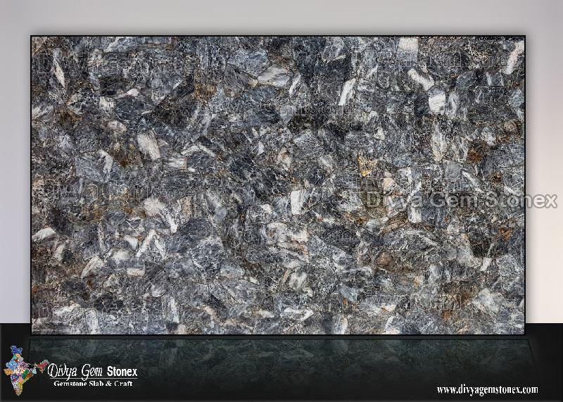 Grey Quartz Dark Slab
