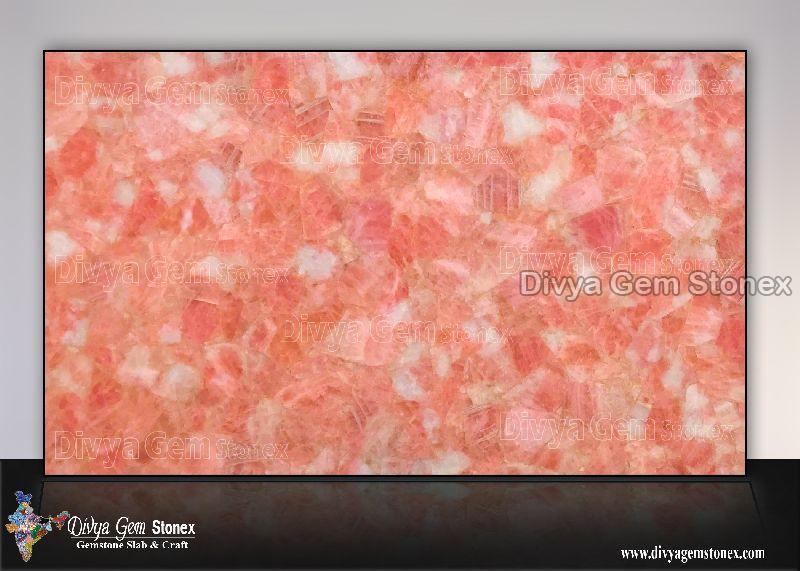 Rose Quartz Slab