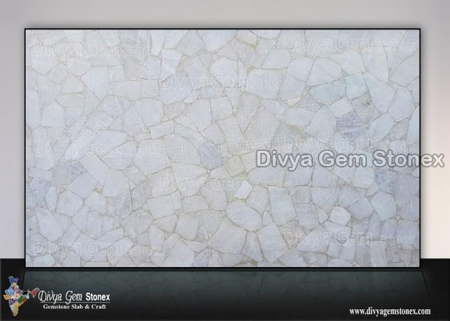 White Quartz Slab