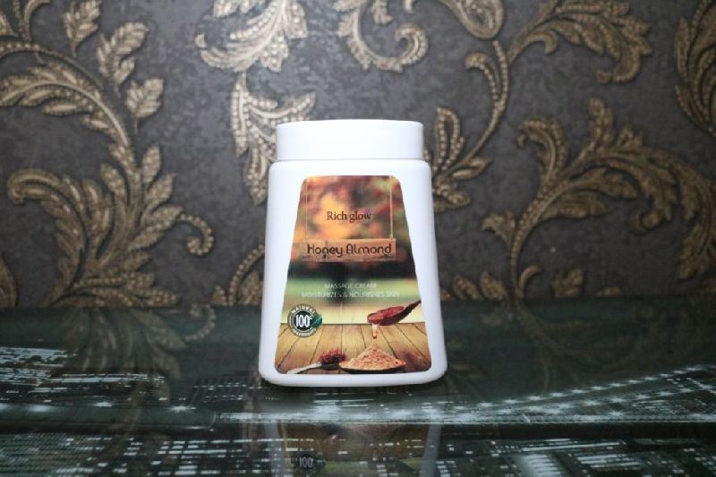 Honey Almond Face Massage Cream