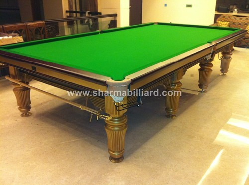 Billiards Table gold