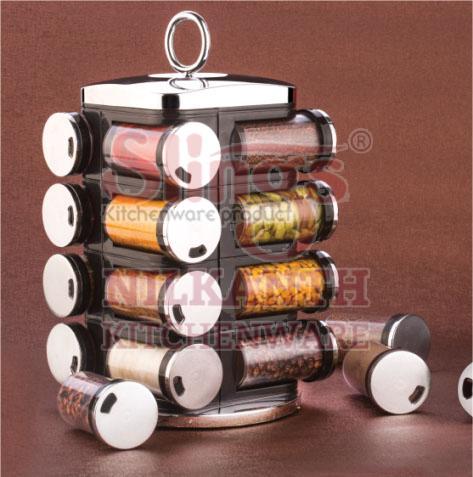 16 Piece Spice Rack