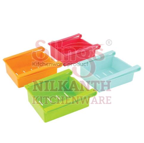 Plastic Fridge Storage Rack